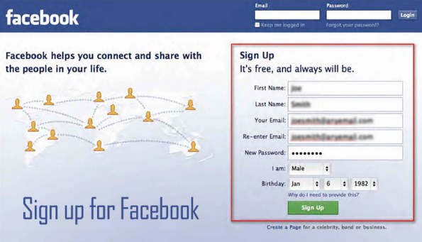 Facebook Login Sign Up New Account | Login FB Account Now