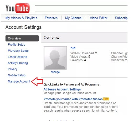 Youtube Account - How To Cancel or Delete Account Youtube Made Easy