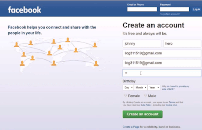 Creating Facebook Account - How to Facebook Account Login | Sign In Facebook