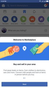 How to Add Marketplace to Facebook - Facebook Marketplace Icon