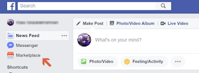 Is Facebook Marketplace Icon Missing?