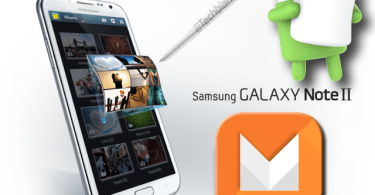 Android Marshmallow In Samsung Galaxy Note 2