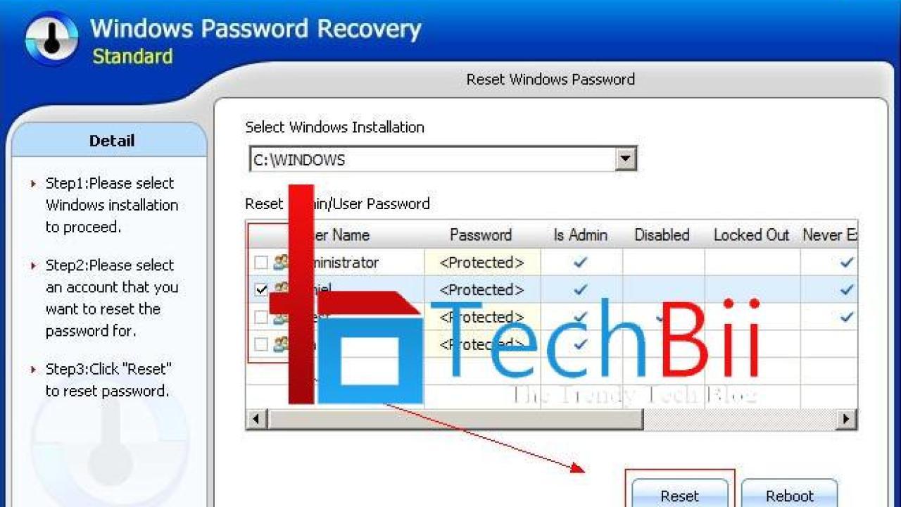 Windows 10 : How to Reset Password on HP Laptop - TechBii