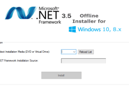 Download .NET Framework 3.5 Offline Installer
