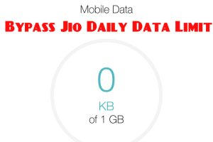 bypass jio 1gb limit