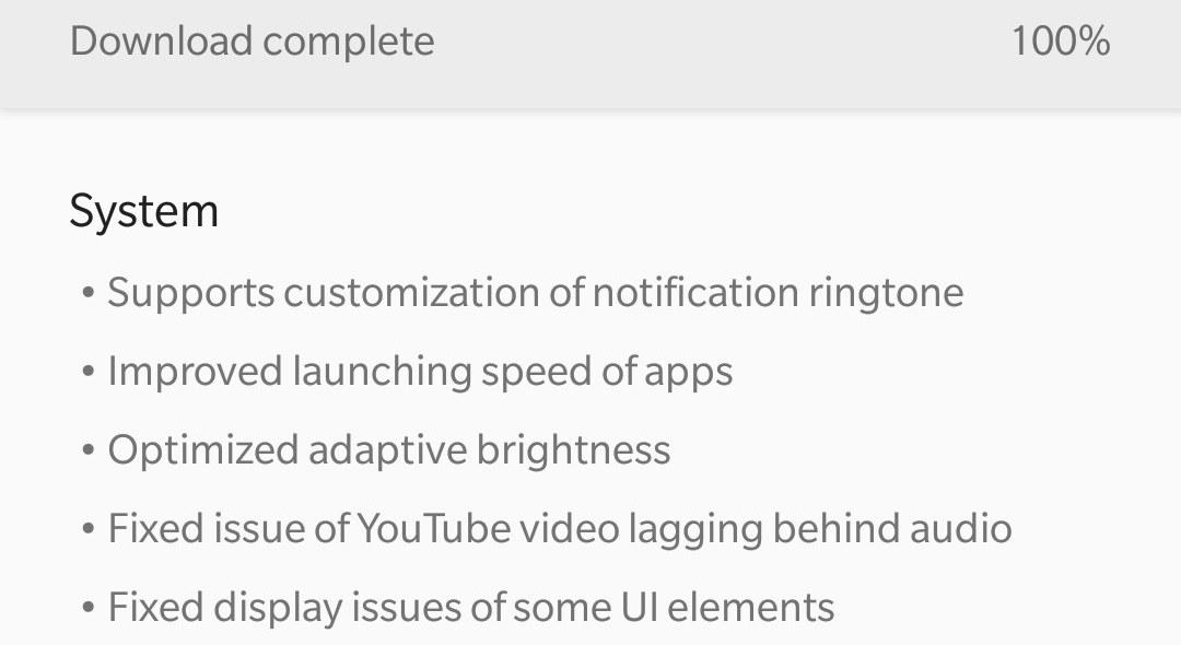 OxygenOS 4.5.11 OTA for OnePlus 5