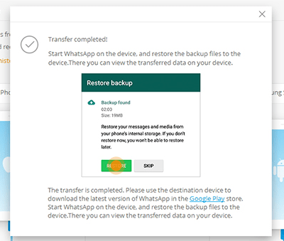 An Easy Way To Transfer Whatsapp between Android and iPhone