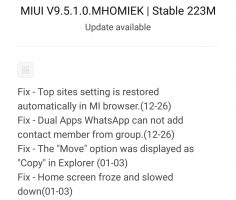 miui 9.5.1.0 redmi note 3