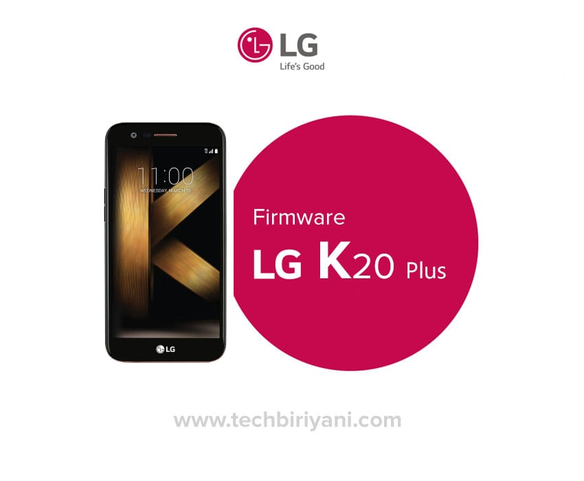 Download and Install LG K20 Plus Firmware