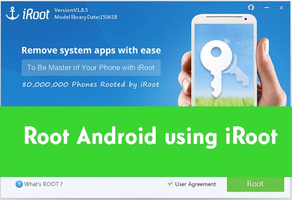 How to Root any Android device using iRoot