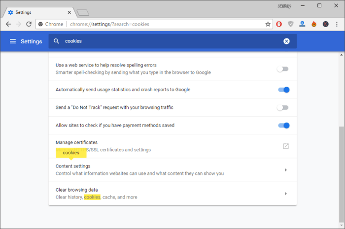 Fix Too Many Redirects Error - Chrome settings page