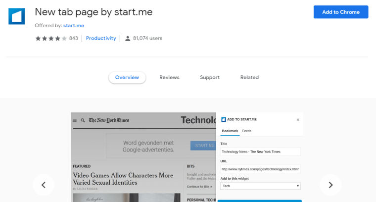 Start.me - Best Google Chrome Extensions for Power Users