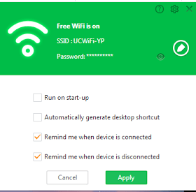 Free UC Browser WiFI PC