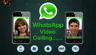 Whatsapp Video Chat call