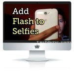 How To Connect Flash For Front Camera Of Your Smartphone