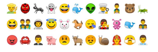 Android 8.0 Oreo Emojis feature