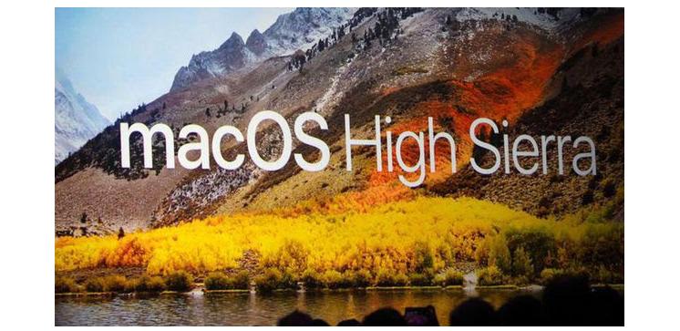 MacOS High Sierra update pc