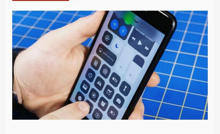 iOS 11 Battery Optimization settings
