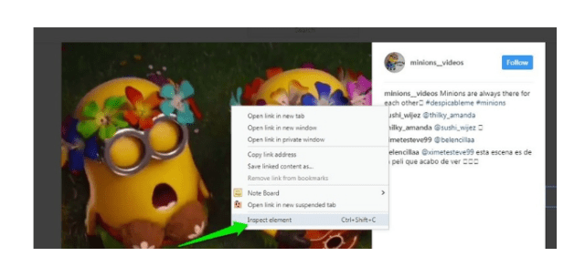 Download Instagram videos on PC