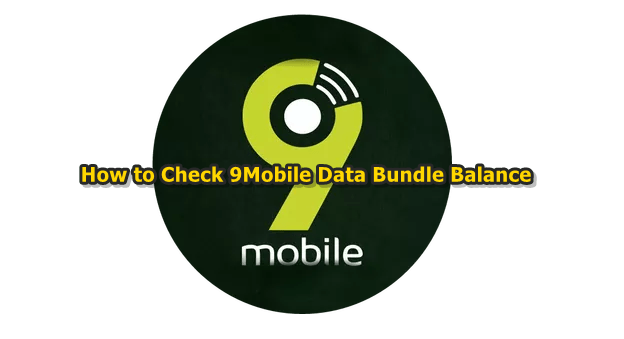 Approved USSD Codes & SMS Text to Check 9Mobile Data Subscription