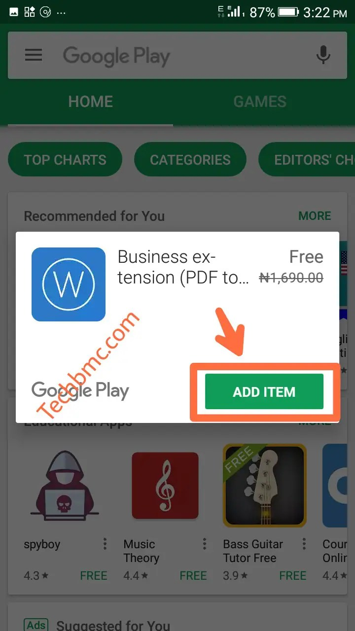 Free Android APK Promo code