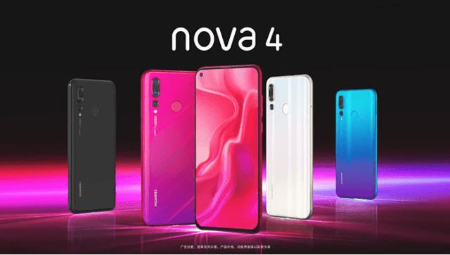 Huawei Nova 4 features smartphone