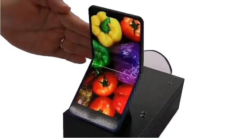 Sharp Folding Phone