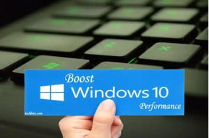boost windows 10 speed