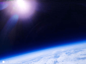 redmi note 7 captured image in space
