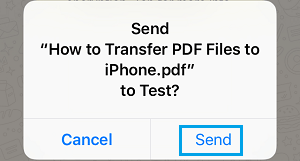 How to Send PDF Files Using WhatsApp On iPhone