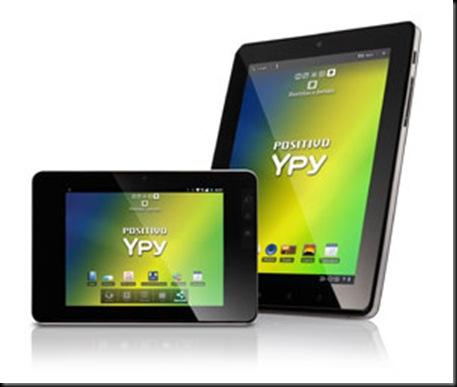 Positivo anuncia dois tablets com Android a partir de R$ 1 mil, Android, Mercado, Tablets