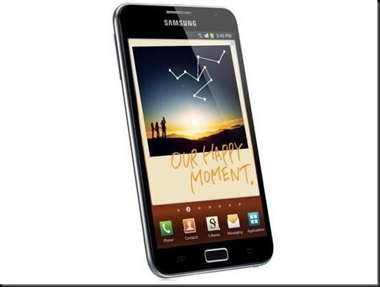 Samsung Galaxy Note chega em breve ao Brasil por R$ 1999, Samsung Galaxy Note, Samsung, smartphone, tablet, lançamento