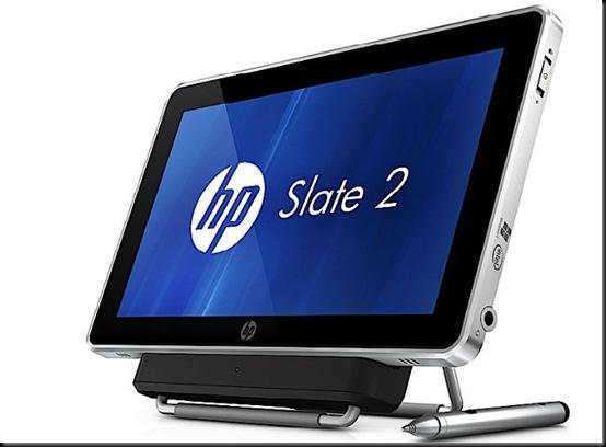 HP lança tablet Slate 2 com Windows 7