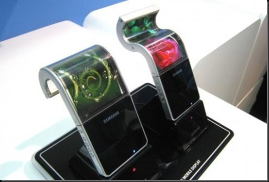 Samsung promete celular flexível em 2012, samsung, samsung flexible amoled, smartphones, tecnologia