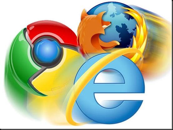 Chrome se torna principal navegador da América do Sul, IE, Firefox, Chrome