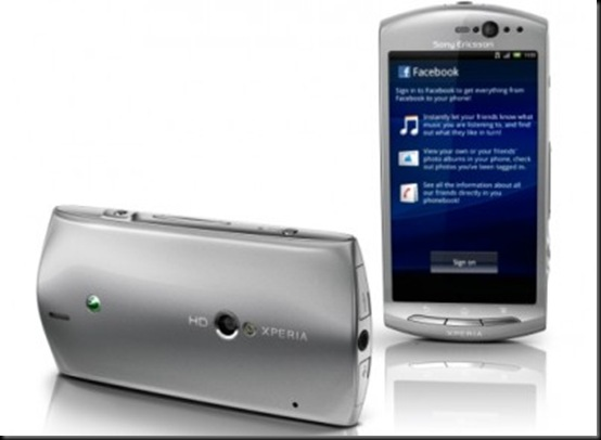 Sony Ericsson Xperia neo V chega por R$ 999,0 no Brasil