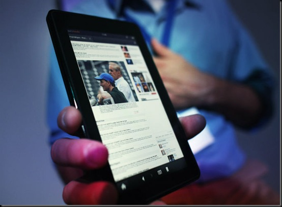 Kindle Fire, Kindle Fire já é o tablet mais vendido nos EUA, Apple iPad, mercado, tablet