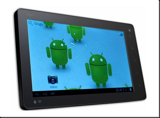 Primeiro tablet com Android 4.0 chega por US$ 99, tablet, android