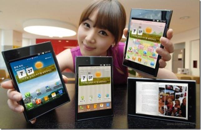 LG anuncia oficialmente o Optimus Vu, LG, Lançamento, Smartphones, Tablets