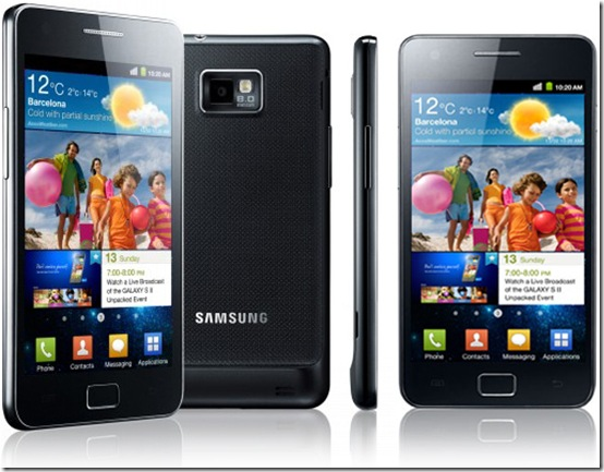 Galaxy S III terá 7 mm de espessura, Samsung, Android