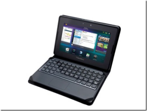 RIM apresenta teclado para o BlackBerry PlayBook, RIM, Blacberry, Acessórios, Tablets