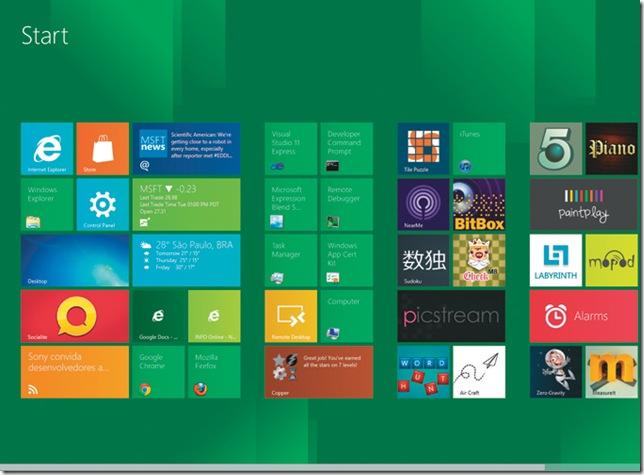 Microsoft apresenta Windows 8 para teste público, Microsoft, Windows, Windows 8, Lançamentos