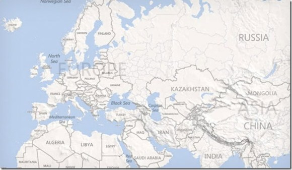 Microsoft (Bing Maps) e Nokia anunciam projeto de mapas, Microsoft, Nokia