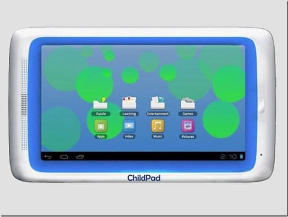 Tablet para crianças vem com Ice Cream Sandwich , Tablets, Android