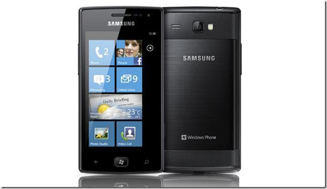 Samsung planeja 3 novos Windows Phones para 2012, Samsung, lançamentos, Windows Phone, Smartphones