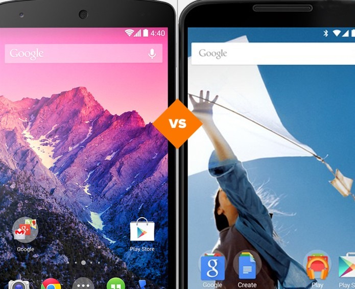 502fee24dd6 Vale a pena comprar o Nexus 5 ou esperar pelo Nexus 6? Veja o comparativo