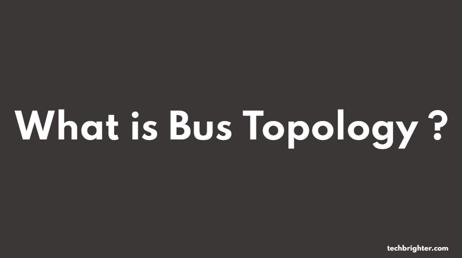 what is bus topology