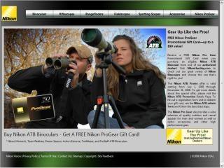 Buy binoculars, get a gift card