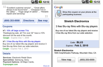Google Coupons go Mobile – will you use it?