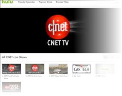 CNET News hits Hulu